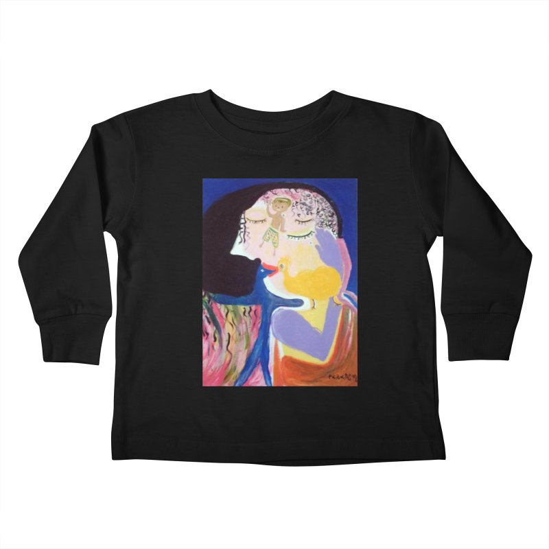 To be wait Kids Toddler Longsleeve T-Shirt by Darabem's Artist Shop. Darabem Collection