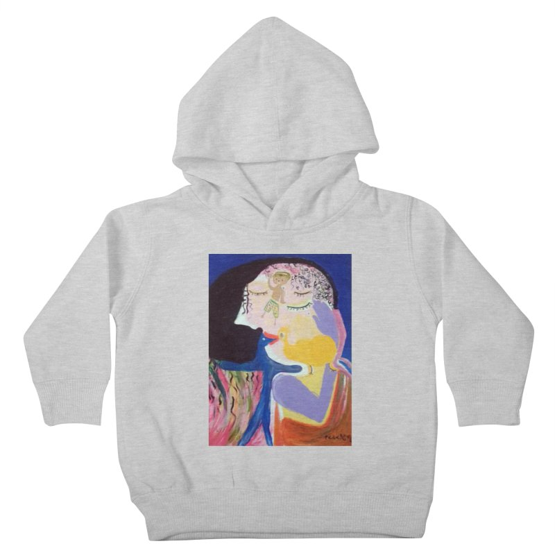 To be wait Kids Toddler Pullover Hoody by Darabem's Artist Shop. Darabem Collection