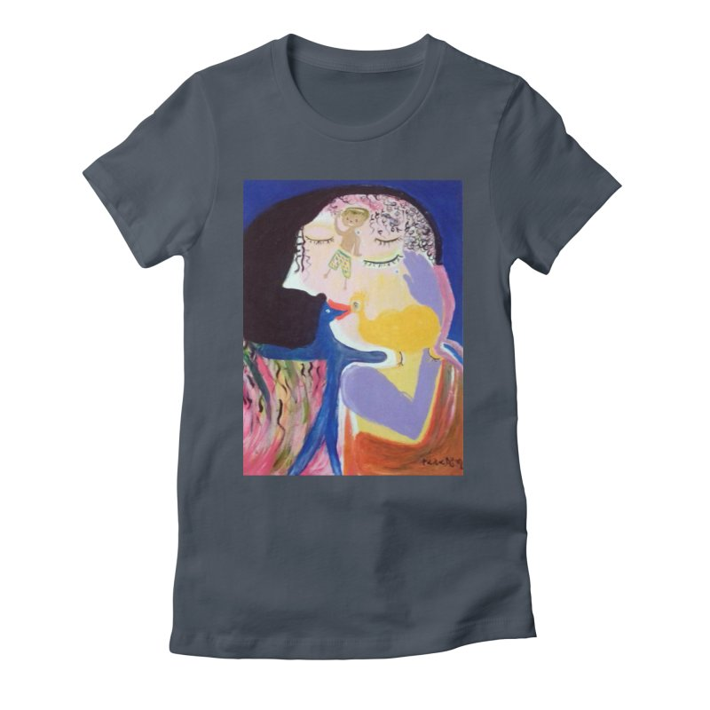To be wait Women's T-Shirt by Darabem's Artist Shop. Darabem Collection