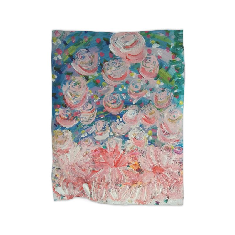 First Flowers Home Blanket by Darabem's Artist Shop. Darabem Collection