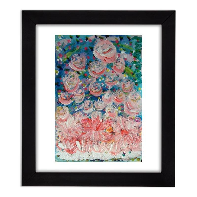 First Flowers Home Framed Fine Art Print by Darabem's Artist Shop. Darabem Collection