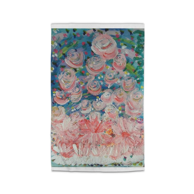 First Flowers Home Rug by Darabem's Artist Shop. Darabem Collection