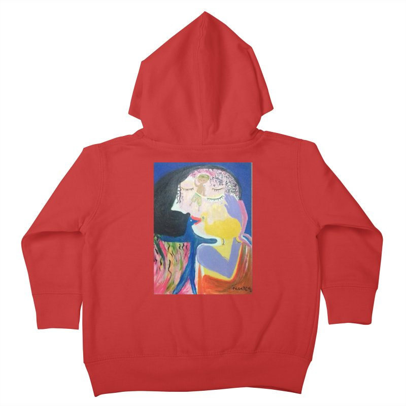 To be wait Kids Toddler Zip-Up Hoody by Darabem's Artist Shop. Darabem Collection