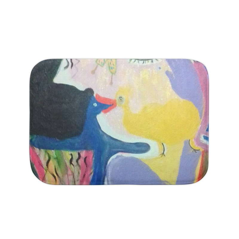 To be wait Home Bath Mat by Darabem's Artist Shop. Darabem Collection