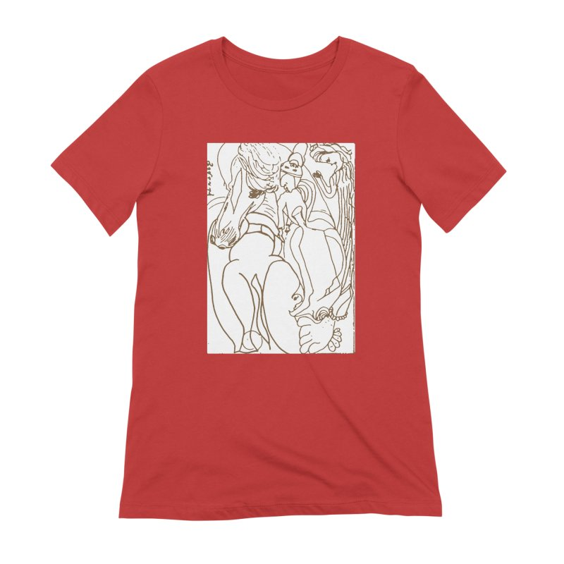 Horse in the casting Women's Extra Soft T-Shirt by Darabem's Artist Shop. Darabem Collection