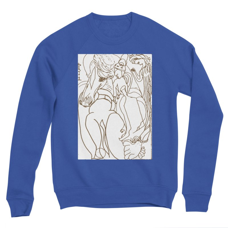 Horse in the casting Men's Sweatshirt by Darabem's Artist Shop. Darabem Collection