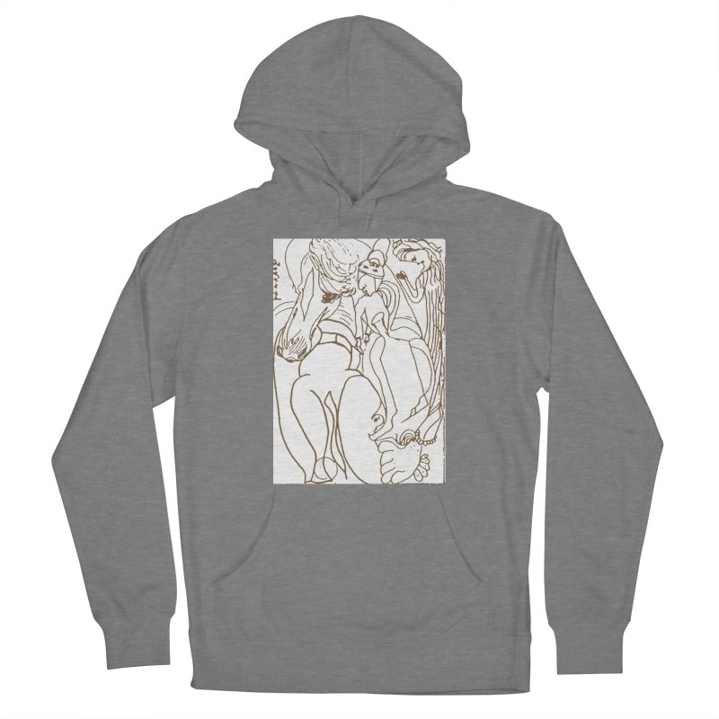 Horse in the casting Women's Pullover Hoody by Darabem's Artist Shop. Darabem Collection