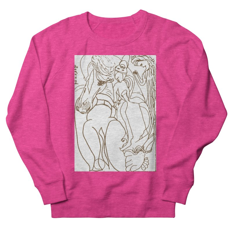 Horse in the casting Women's Sweatshirt by Darabem's Artist Shop. Darabem Collection