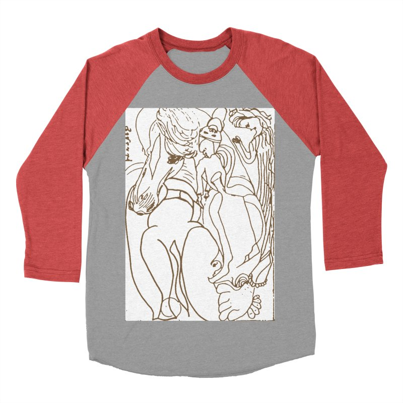 Horse in the casting Women's Baseball Triblend Longsleeve T-Shirt by Darabem's Artist Shop. Darabem Collection