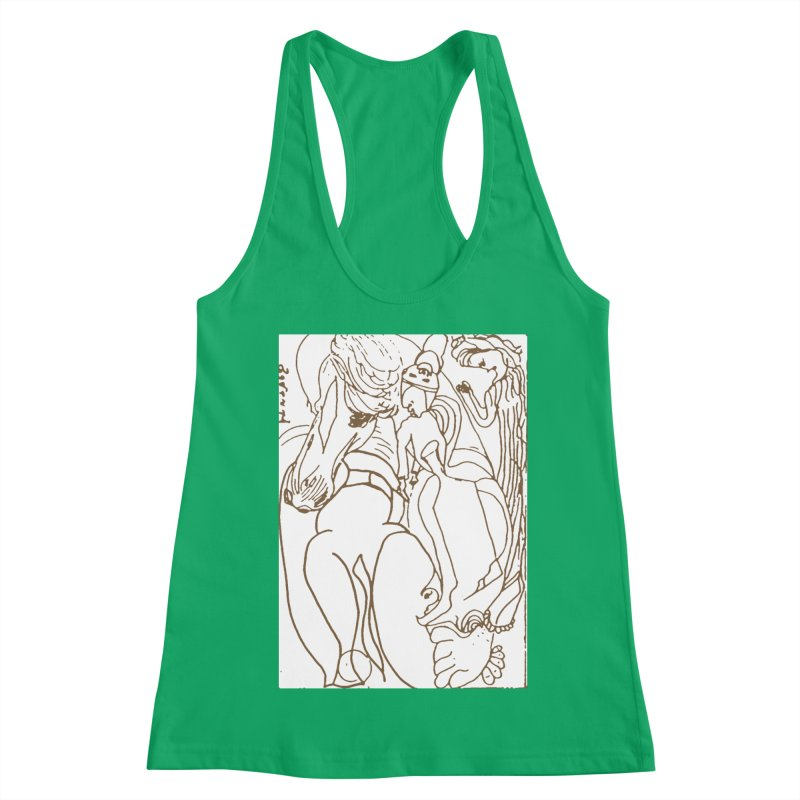Horse in the casting Women's Tank by Darabem's Artist Shop. Darabem Collection