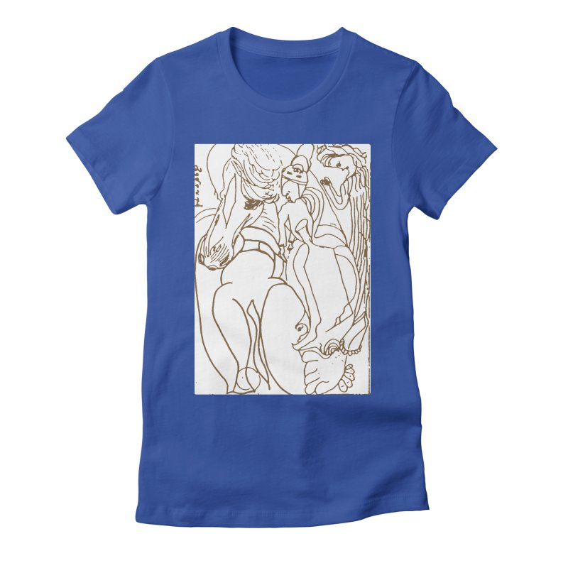 Horse in the casting Women's T-Shirt by Darabem's Artist Shop. Darabem Collection