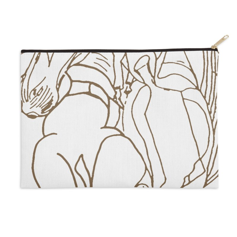 Horse in the casting Accessories Zip Pouch by Darabem's Artist Shop. Darabem Collection