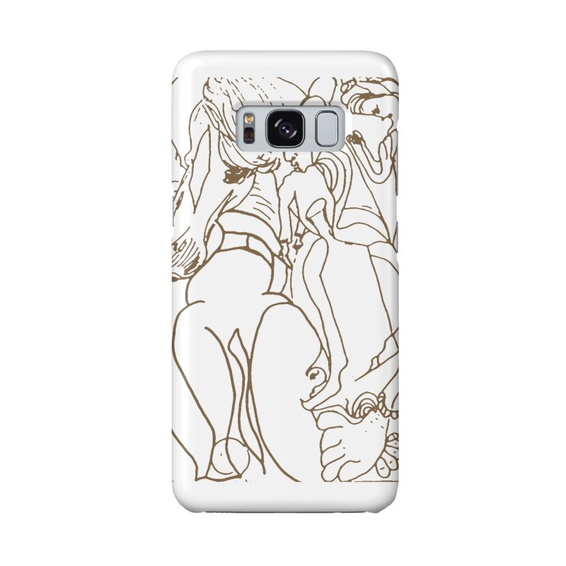 Horse in the casting Accessories Phone Case by Darabem's Artist Shop. Darabem Collection