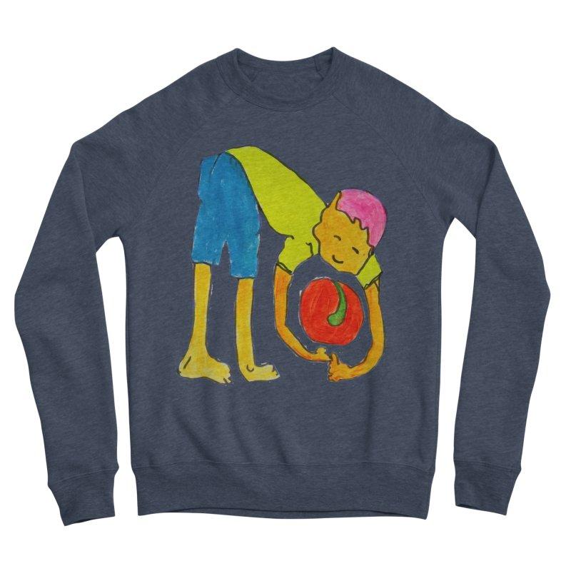 Ball and Boy Women's Sponge Fleece Sweatshirt by Darabem's Artist Shop. Darabem Collection