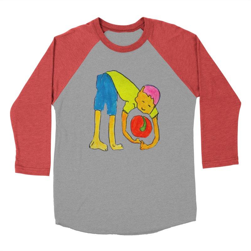 Ball and Boy Men's Longsleeve T-Shirt by Darabem's Artist Shop. Darabem Collection