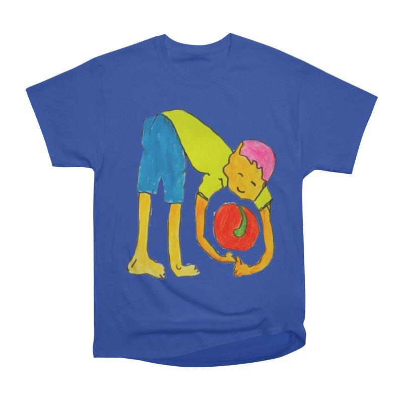 Ball and Boy Men's Heavyweight T-Shirt by Darabem's Artist Shop. Darabem Collection