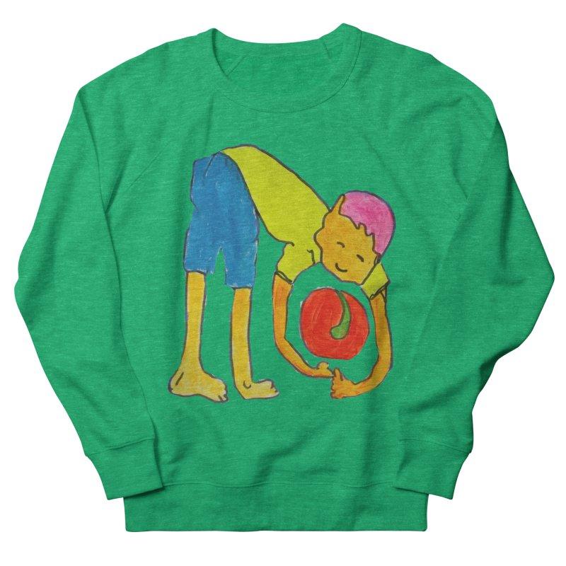 Ball and Boy Women's Sweatshirt by Darabem's Artist Shop. Darabem Collection