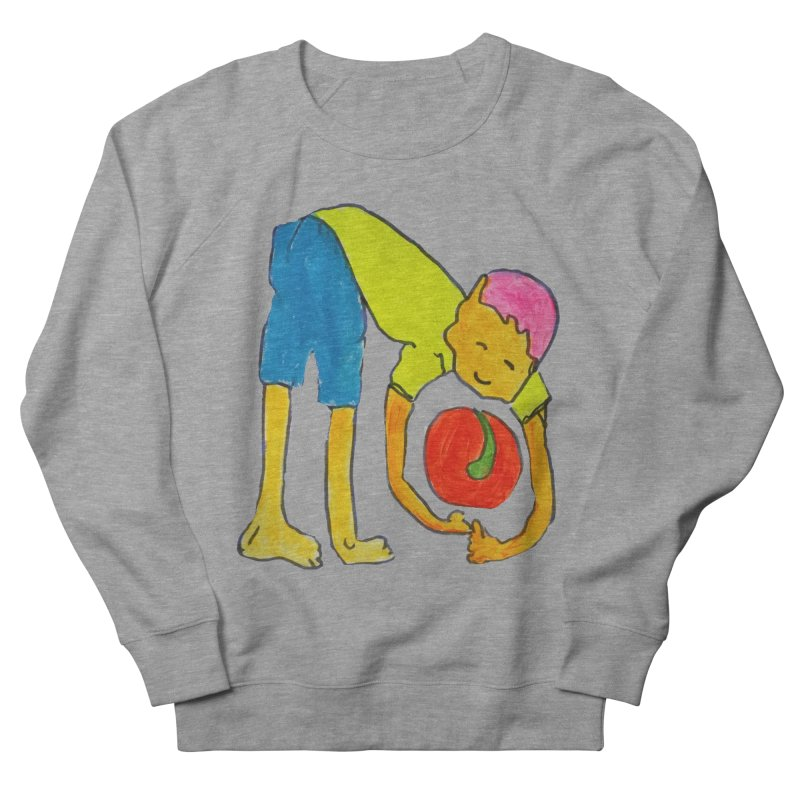 Ball and Boy Women's French Terry Sweatshirt by Darabem's Artist Shop. Darabem Collection