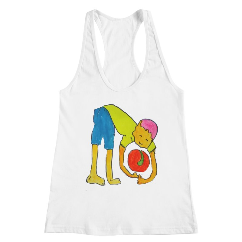 Ball and Boy Women's Tank by Darabem's Artist Shop. Darabem Collection