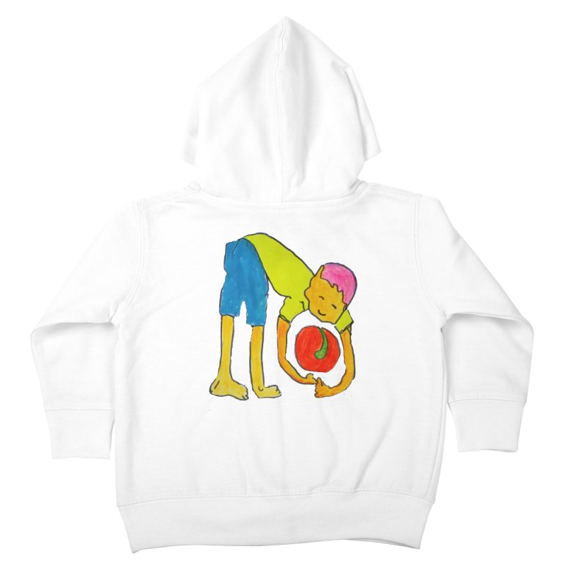 Ball and Boy Kids Toddler Zip-Up Hoody by Darabem's Artist Shop. Darabem Collection