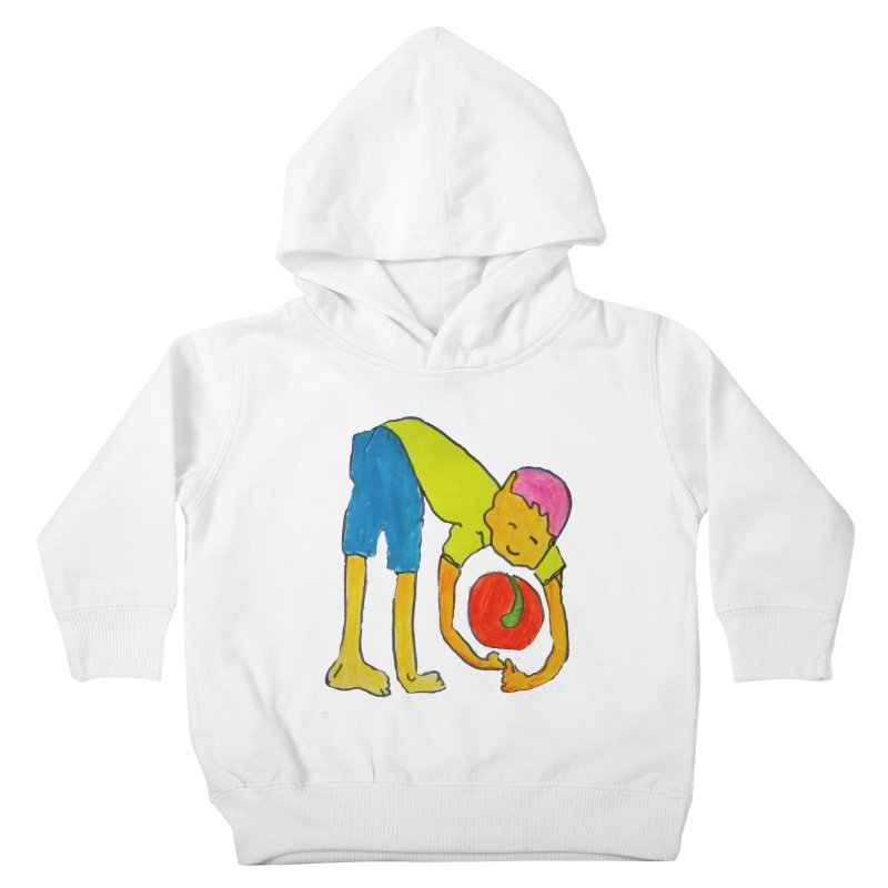 Ball and Boy Kids Toddler Pullover Hoody by Darabem's Artist Shop. Darabem Collection
