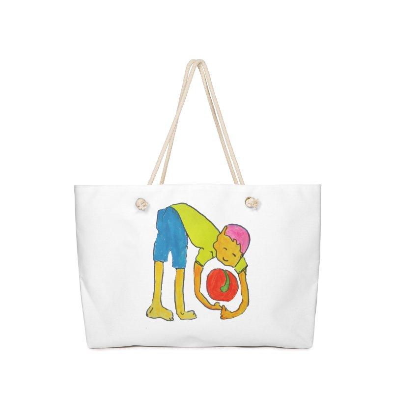 Ball and Boy Accessories Bag by Darabem's Artist Shop. Darabem Collection