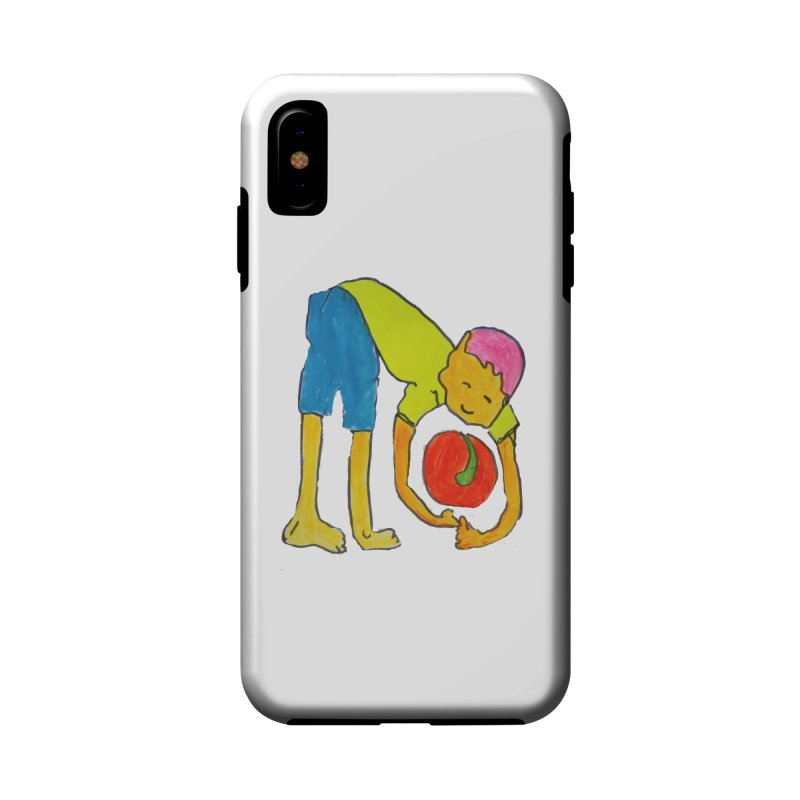 Ball and Boy Accessories Phone Case by Darabem's Artist Shop. Darabem Collection