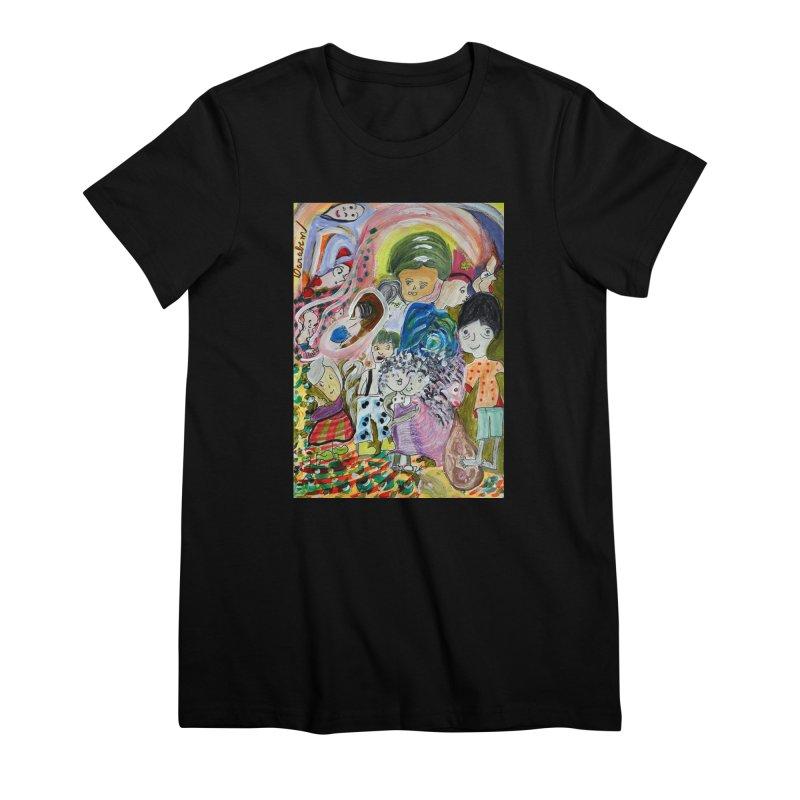 Value Women's Premium T-Shirt by Darabem's Artist Shop. Darabem Collection