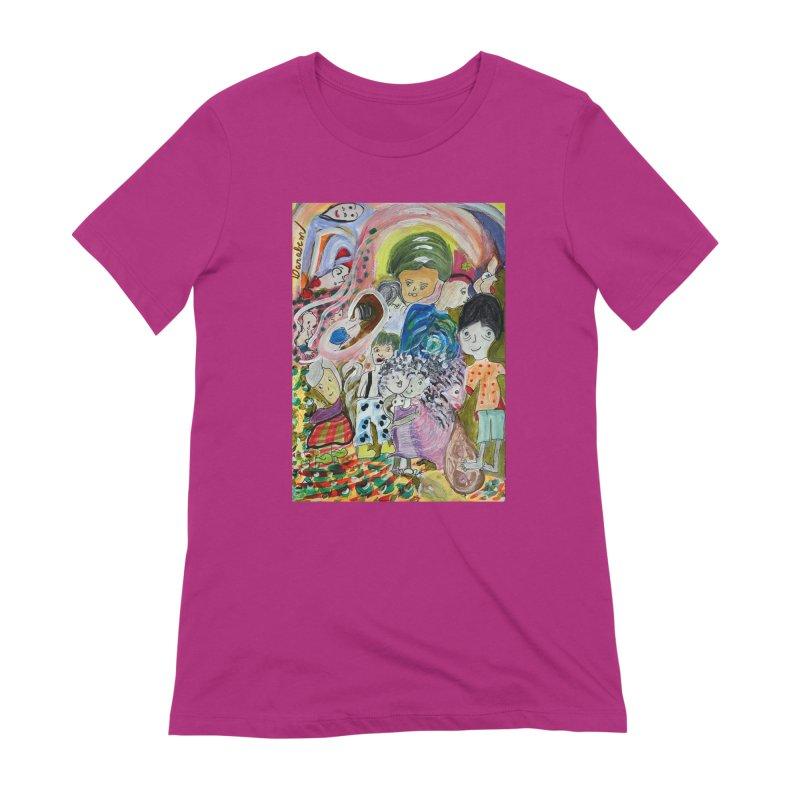 Value Women's Extra Soft T-Shirt by Darabem's Artist Shop. Darabem Collection