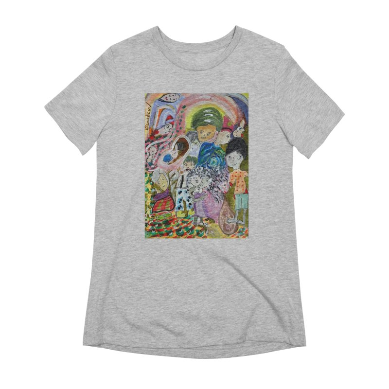 Value Women's Extra Soft T-Shirt by Darabem's Artist Shop. Darabem Collection