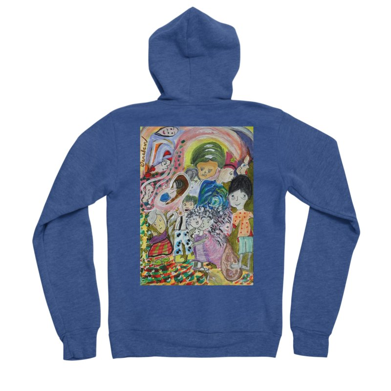 Value Women's Sponge Fleece Zip-Up Hoody by Darabem's Artist Shop. Darabem Collection
