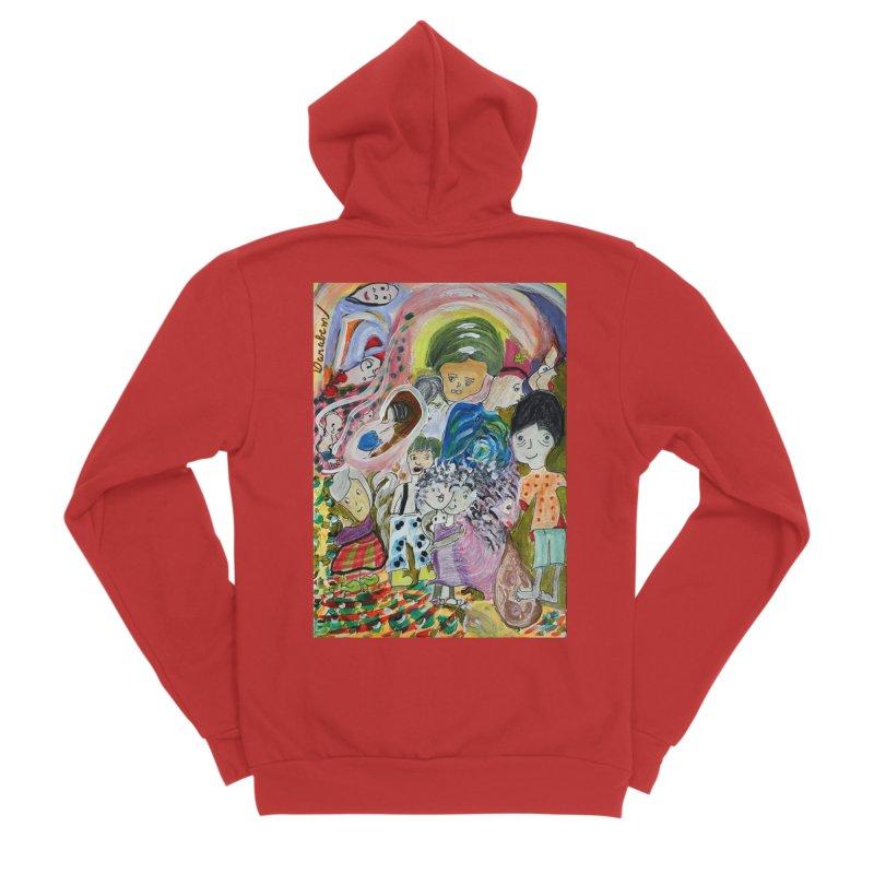 Value Men's Zip-Up Hoody by Darabem's Artist Shop. Darabem Collection