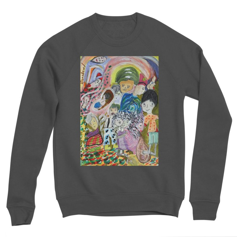Value Men's Sponge Fleece Sweatshirt by Darabem's Artist Shop. Darabem Collection