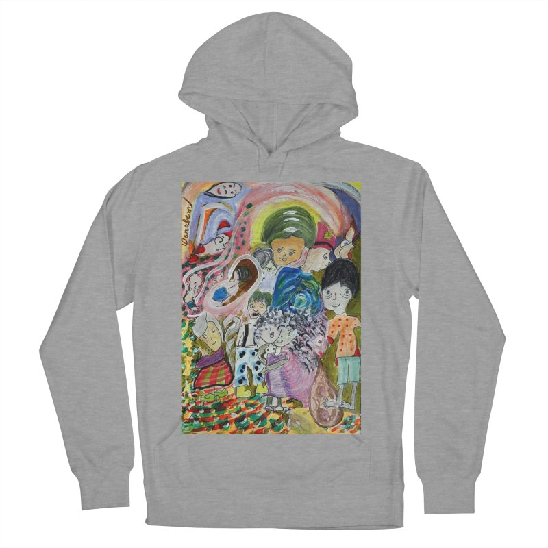 Value Women's French Terry Pullover Hoody by Darabem's Artist Shop. Darabem Collection