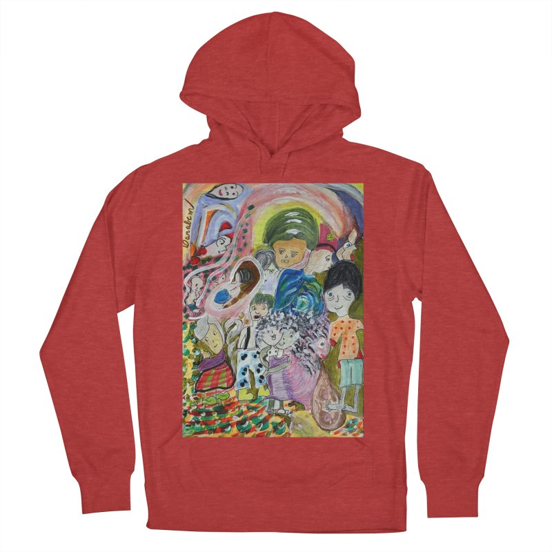 Value Men's French Terry Pullover Hoody by Darabem's Artist Shop. Darabem Collection
