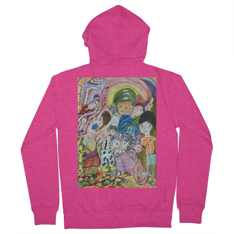 Value Women's Zip-Up Hoody by Darabem's Artist Shop. Darabem Collection