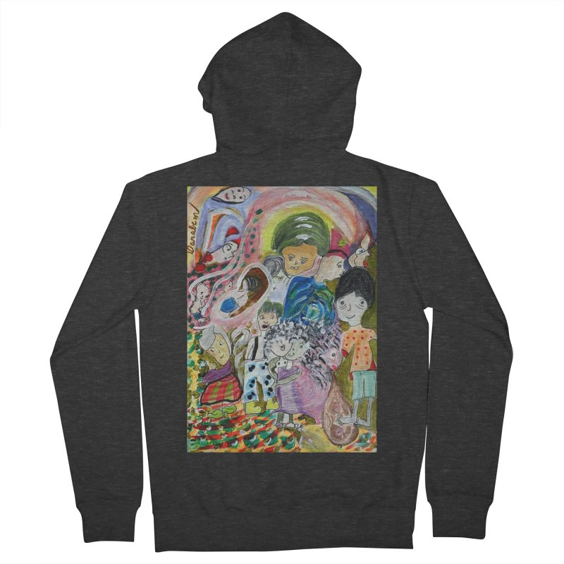Value Men's French Terry Zip-Up Hoody by Darabem's Artist Shop. Darabem Collection