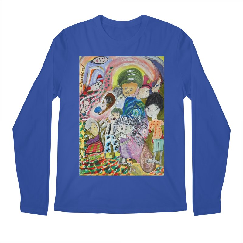 Value Men's Regular Longsleeve T-Shirt by Darabem's Artist Shop. Darabem Collection