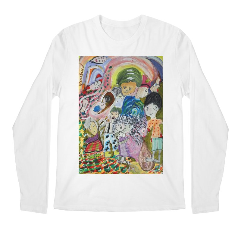 Value Men's Longsleeve T-Shirt by Darabem's Artist Shop. Darabem Collection