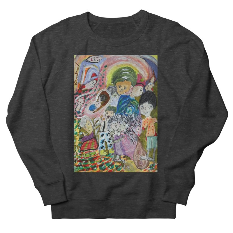 Value Men's French Terry Sweatshirt by Darabem's Artist Shop. Darabem Collection