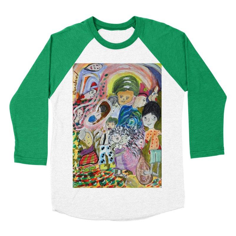 Value Women's Baseball Triblend Longsleeve T-Shirt by Darabem's Artist Shop. Darabem Collection
