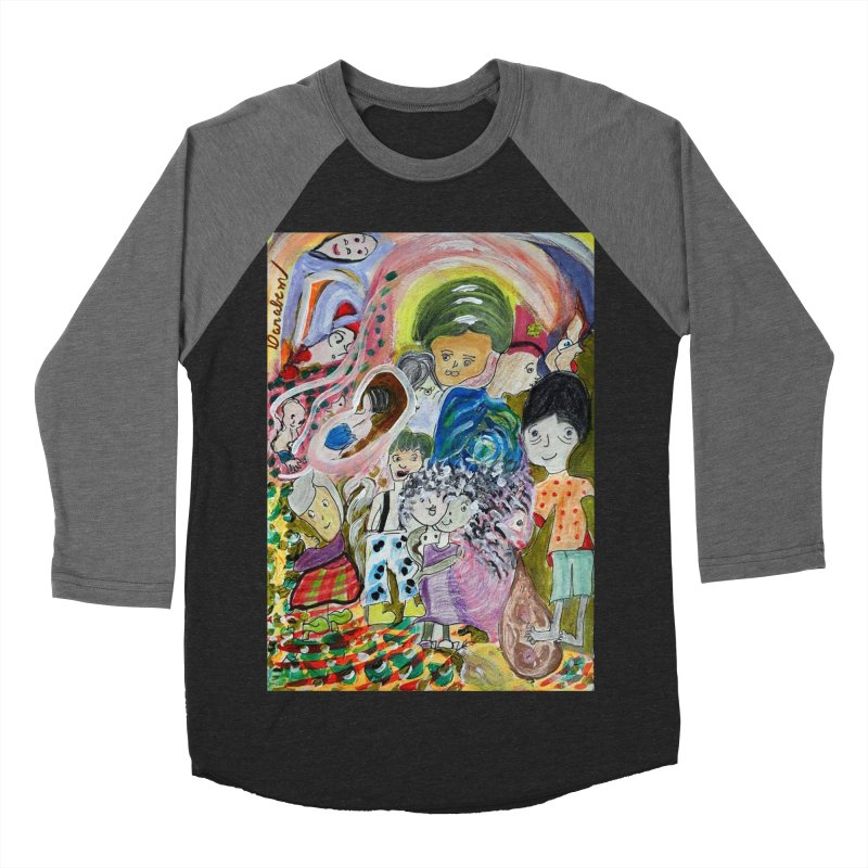 Value Men's Baseball Triblend Longsleeve T-Shirt by Darabem's Artist Shop. Darabem Collection