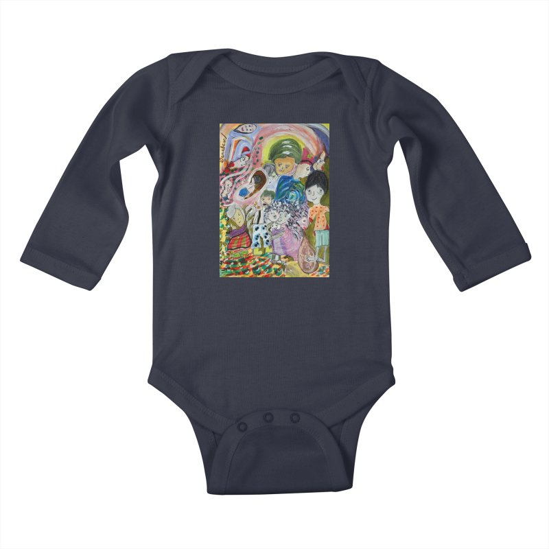 Value Kids Baby Longsleeve Bodysuit by Darabem's Artist Shop. Darabem Collection