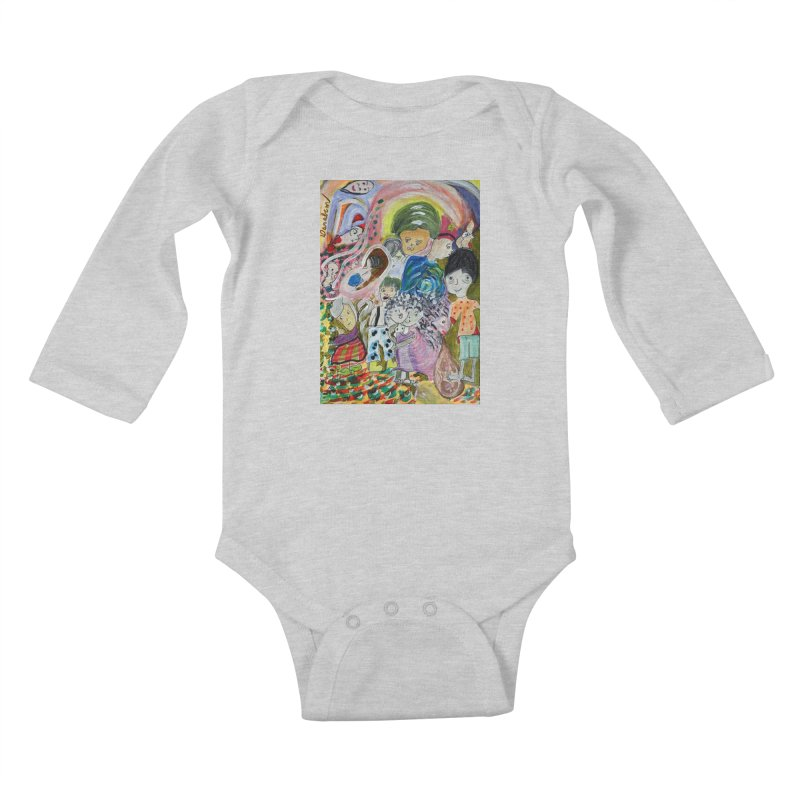 Value Kids Baby Longsleeve Bodysuit by Darabem's Artist Shop. Darabem Collection