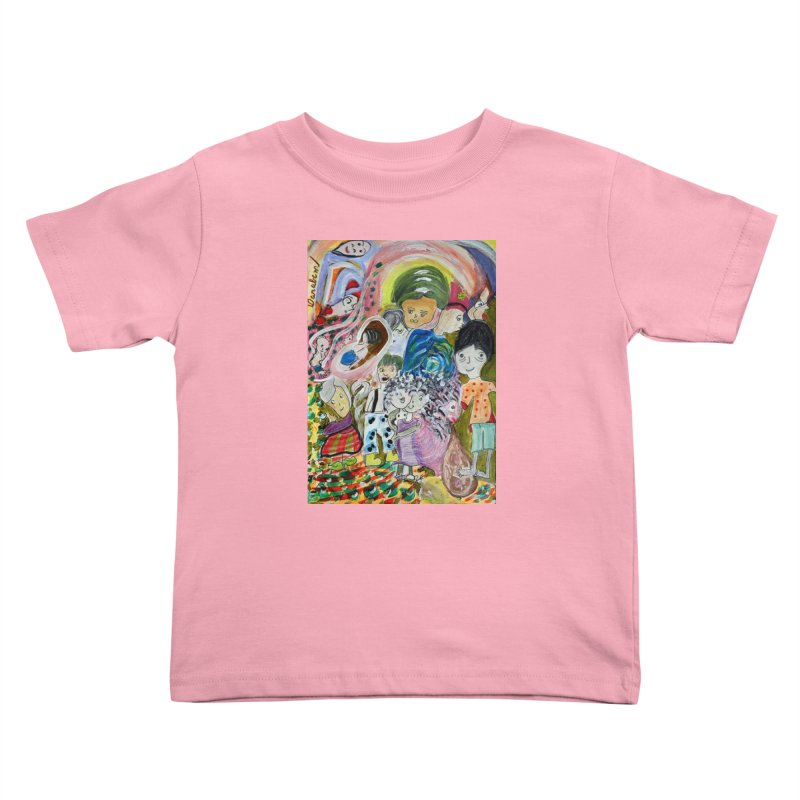 Value Kids Toddler T-Shirt by Darabem's Artist Shop. Darabem Collection