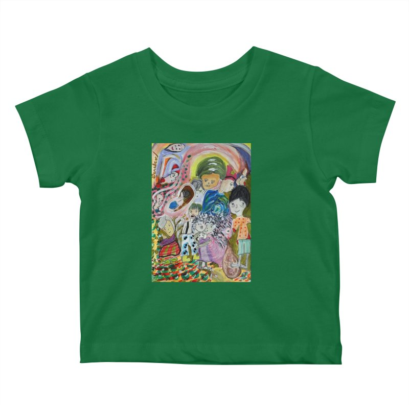 Value Kids Baby T-Shirt by Darabem's Artist Shop. Darabem Collection