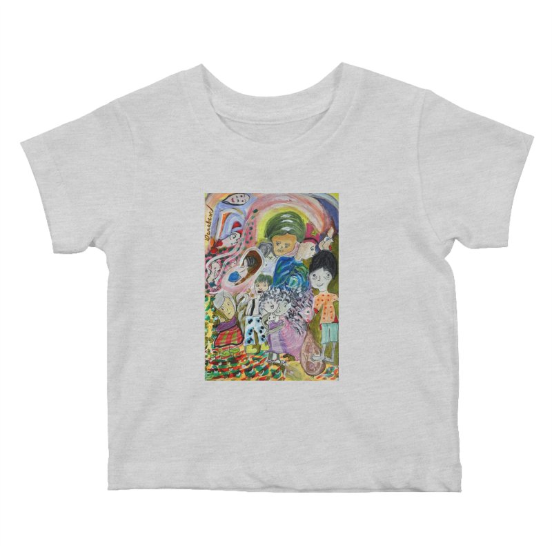 Value Kids Baby T-Shirt by Darabem's Artist Shop. Darabem Collection