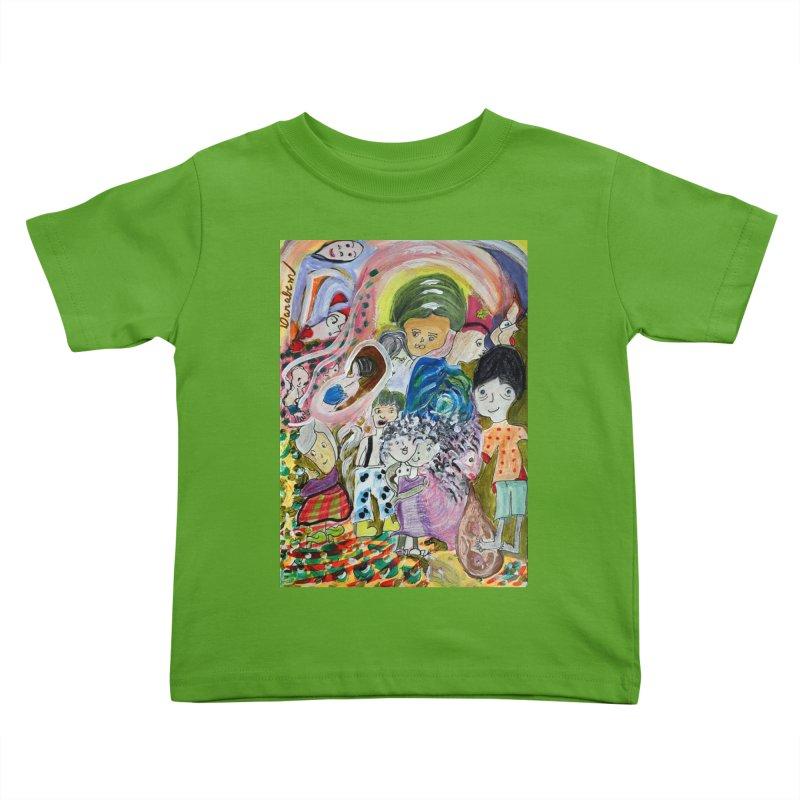 Value Kids Toddler T-Shirt by Darabem's Artist Shop. Darabem Collection