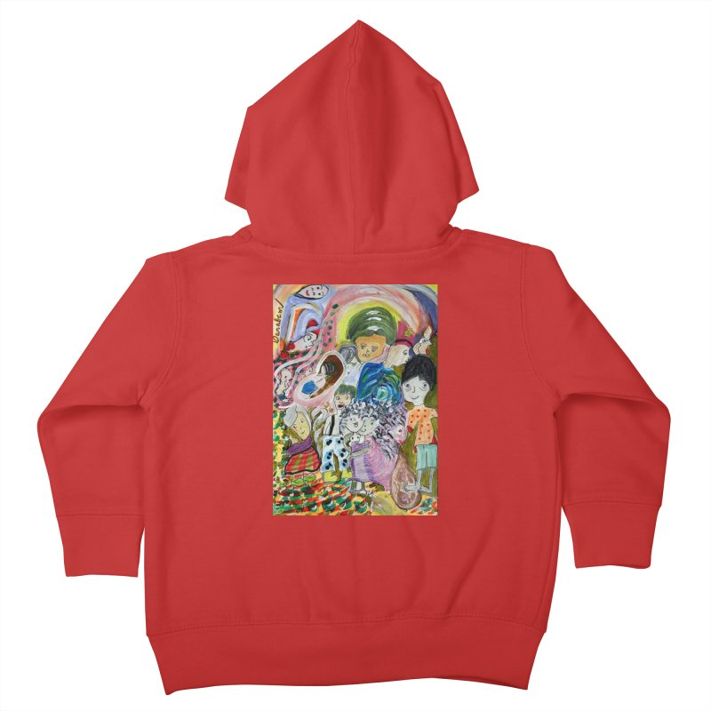Value Kids Toddler Zip-Up Hoody by Darabem's Artist Shop. Darabem Collection