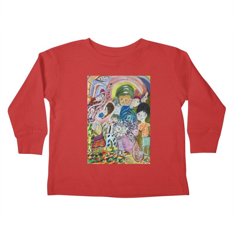 Value Kids Toddler Longsleeve T-Shirt by Darabem's Artist Shop. Darabem Collection